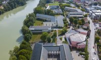 Campus direkt am Fluss Inn