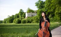 Cello im Park
