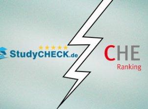 Was unterscheidet eigentlich das CHE Ranking von StudyCheck?