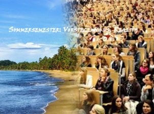 Das Sommersemester: Vorstellung vs. Reality
