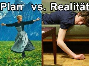 Semesterferien: Dein Plan vs. Realität