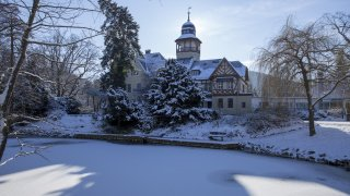 Campus Wernigerode im Winter