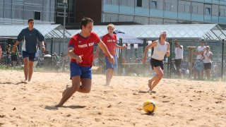 Beachsoccer Turnier am RheinAhrCampus