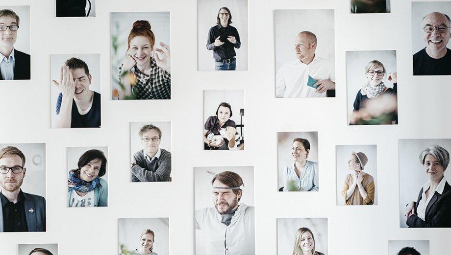 Ecosign 39 bewertungen zum studium for Mitarbeiter fotowand