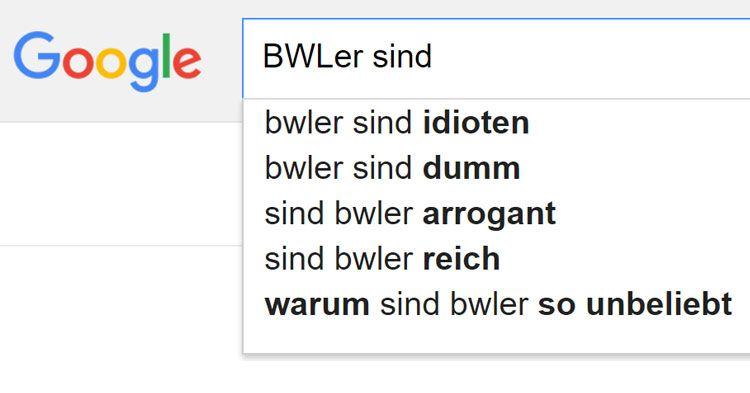 Dumm & reich?! Die 6 krassesten BWLer Klischees laut Google