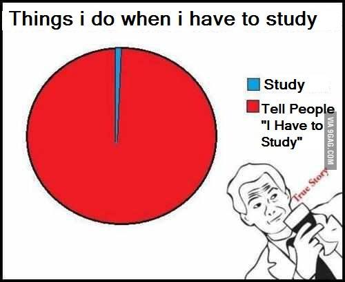Ich muss studieren