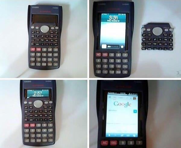 Fake-Taschenrechner-Spicker