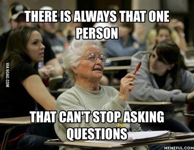 Oma stellt doofe Frage