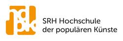 SRH Hochschule der populären Künste (hdpk) Logo